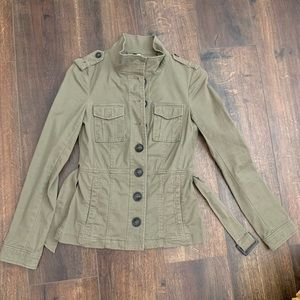 army green utility jackets for women
